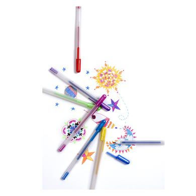 Scented Glitter Gel Pens-pens, scented, gift