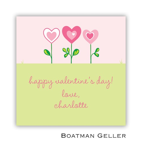 Boatman Geller Valentines Sticker Heart Garden 21500-Stickers, Boatman Geller, Valentines