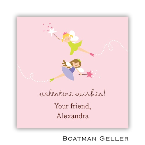 Boatman Geller Valentines Sticker Heart Fairy 21506-Stickers, Boatman Geller, Valentines