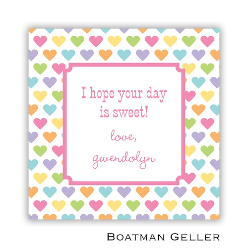 Boatman Geller Valentines Sticker Candy Hearts 21508-Stickers, Boatman Geller, Valentines