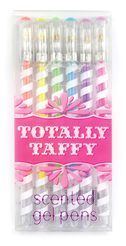 Totally Taffy Scented Gel Pens-Gifts, pencils, pens