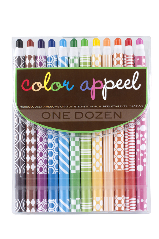 Color Appeel Crayons-gifts, international arrivals, home, crayons, pencils