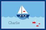 Boatman Geller Placemat - Sailboat-placemats, boatman geller, gifts