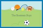 Boatman Geller Placemat - Sports Boy-placemats, boatman geller, gifts