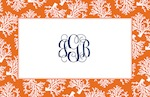 Boatman Geller Placemat - Coral Repeat-placemats, boatman geller, gifts