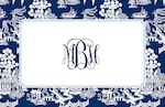 Boatman Geller Placemat - Chinoiserie Navy-placemats, boatman geller, gifts