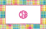 Boatman Geller Placemat - Madras Patch Bright-placemats, boatman geller, gifts