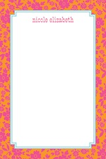 Boatman Geller Notepad - SoHo Floral Raspberry-boatman geller, notepads, acrylic