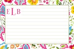 Boatman Geller Recipe Cards - Bright Floral-recipe cards, boatman geller, gifts