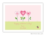Boatman Geller Valentine Card -Heart Garden 21201-Boatman Geller, Note Cards, Valentine, Personalized