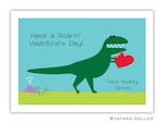 BG Valentine Card - Heart Dino-Boatman Geller, Note Cards, Valentine, Personalized