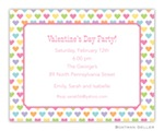 Boatman Geller Valentine Invite Candy Hearts 21211-Boatman Geller, Invitations, Valentine, Personalized