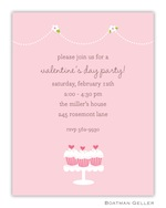 Boatman Geller Valentine Invite Heart Cupcakes 21212-Boatman Geller, Invitations, Valentine, Personalized
