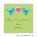 Boatman Geller Valentines Sticker Love Birds 21501-Stickers, Boatman Geller, Valentines