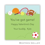 Boatman Geller Valentines Sticker Sports Red 21502-Stickers, Boatman Geller, Valentines