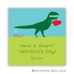 Boatman Geller Valentines Sticker Heart Dino 21504-Stickers, Boatman Geller, Valentines