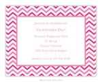 BG Valentine Invite - Chevron-Boatman Geller, Invitations, Valentine, Personalized