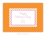 BG Valentine Card - Lucy Valentine Exchange-Boatman Geller, Note Cards, Valentine, Personalized