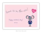 BG Valentine Card - Mimi Mouse Valentine-Boatman Geller, Note Cards, Valentine, Personalized