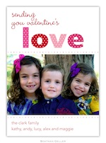 BG Valentine Photocard - Love Valentine-Boatman Geller, photocard, Valentine, Personalized