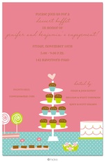 Cupcake Buffet Party Invitation-hicks paper goods, cupcake, birthday, party