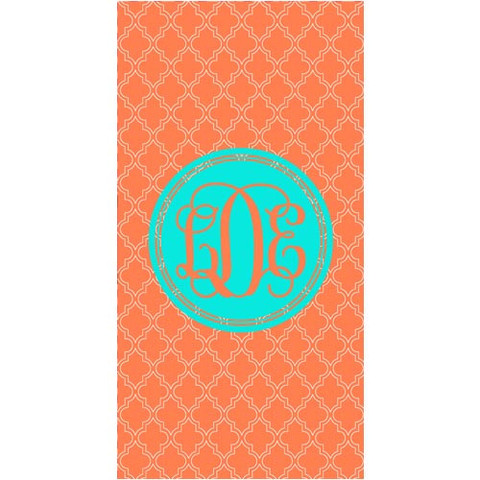 LBJ Beach Towel - LDE-beach, towel, personalized