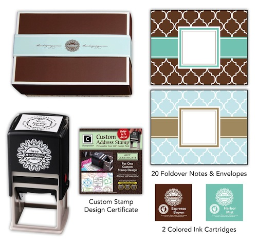 Designer Desk Set - Nantucket-Stamps, Gift Certificate