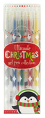 Christmas Gel Pen Set-pens, international arrivals, gifts