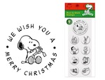 PSA Peel & Stick Packs - Peanuts Christmas Wishes-PSA Essentials, Stamps, gifts, peanuts, holiday