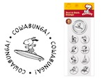 PSA Peel & Stick Packs - Peanuts Cowabunga-PSA Essentials, Stamps, gifts, Peanuts