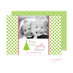 D7J2004 Modern Posh Holiday Photo Card-Holiday, Photo Card, Modern Posh, Christmas