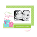 D7J2011 Modern Posh Holiday Photo Card-Holiday, Photo Card, Modern Posh, Christmas