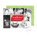 D7J2021 Modern Posh Holiday Photo Card-Holiday, Photo Card, Modern Posh, Christmas