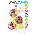 D7J2025 Modern Posh Holiday Photo Card-Holiday, Photo Card, Modern Posh, Christmas