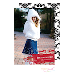 D7J2033 Modern Posh Holiday Photo Card-Holiday, Photo Card, Modern Posh, Christmas