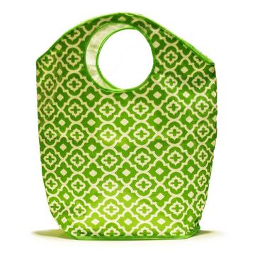 Whitney English Green Lattice Bag-large-Tote Bag, Trend-e-tote, bag, gift, whitney english, accessory