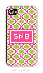 BG Cell Phone Cover - Kate Raspberry & Lime-gifts, boatman geller, cell phone cover