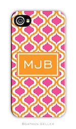 BG Cell Phone Cover - Kate Raspbery & Tangerine-gifts, boatman geller, cell phone cover