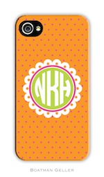 BG Cell Phone Cover - Lucy Orange-gifts, boatman geller, cell phone cover