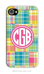 BG Cell Phone Cover - Madras Patch Bright-gifts, boatman geller, cell phone cover