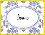 Hicks Paper Goods Note Cards Damask Blue NC404-Hicks Paper Goods, Note card,