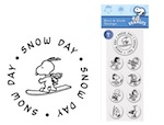 PSA Peel & Stick Packs - Peanuts Snow Day-PSA Essentials, Stamps, gifts, Peanuts