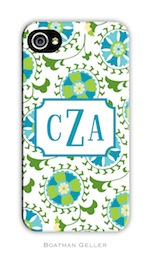 BG Cell Phone Cover -Suzani Teal-gifts, boatman geller, cell phone cover