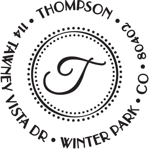 PSA Stamp - Thompson-PSA Essentials, stamps, gifts, ink