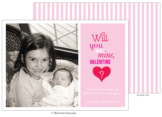 Whitney English Be Mine Photo Card