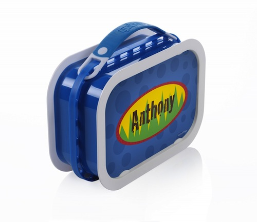 Yubo-Cars & Trucks-Blue-Yubo, lunchboxes, lunch. personalized