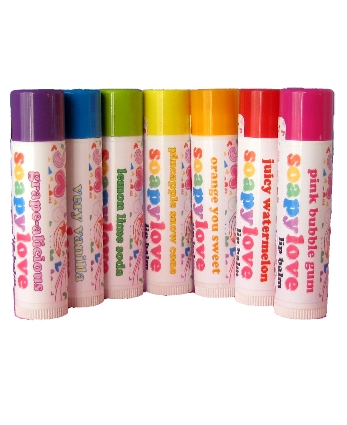 Soapylove Sweet Lips Lip Balm-gifts, soapylove, lip balm, favors