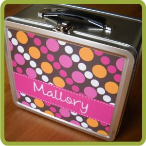 Clairebella Tin Lunch Box-